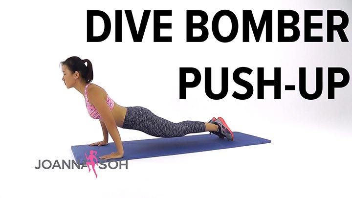 Dive bomber push up - Dive bomber push up ...